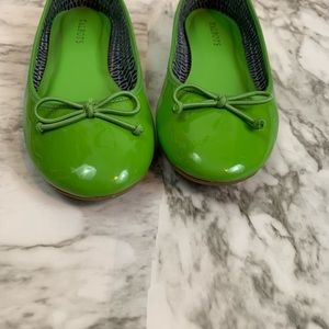 Talbots Shoes - Talbots Green Flats   Size 7.5